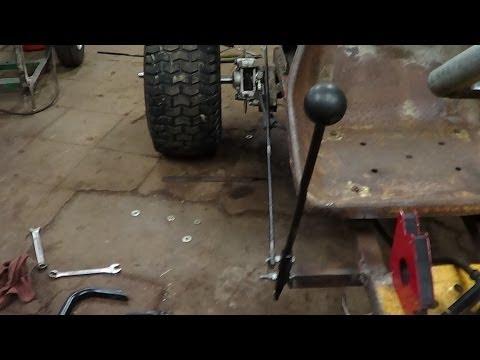 Homemade shifter kart shifter install pt. 2/2