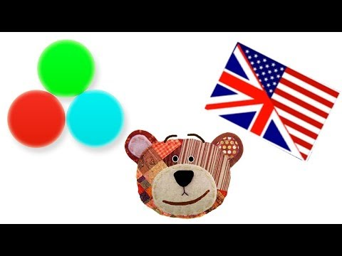 Colors for kids in english - My first words