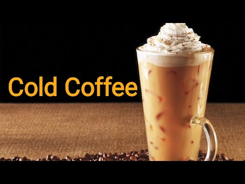 Cold Coffee Recipe In Hindi - How To Make Cold Coffee - Iced Coffee Recipe - HappyAppy