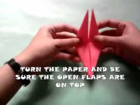 How to make a Sumo wrestler origami