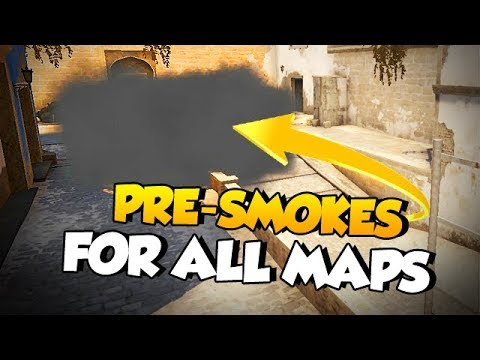 CS:GO - Win More T Rounds: Pre-smokes for all maps!