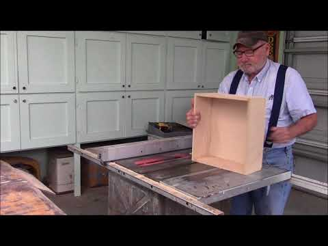 153 Building a Kitchen Island cabinet and work area Part 1 of 2