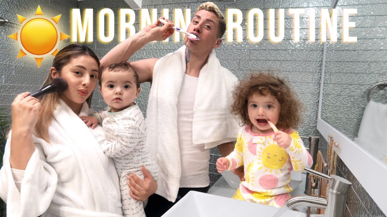 OUR NEW MORNING ROUTINE WITH 2 UNDER 2!!!