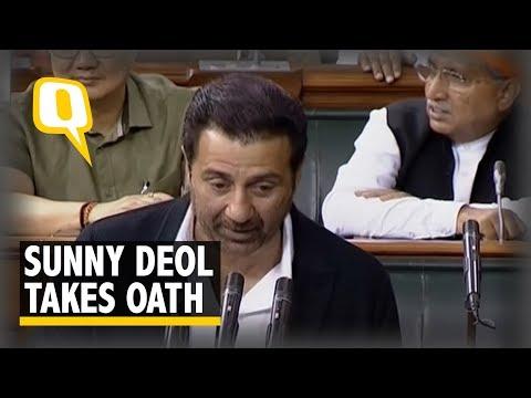 Xxx Mp4 BJP Leader Sunny Deol Takes Oath As Lok Sabha MP The Quint 3gp Sex