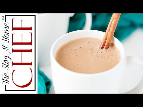 How to Make The Most Decadent Caramelized Cinnamon Hot Chocolate  | The Stay At Home Chef