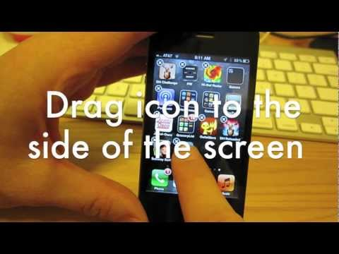 Basics: Moving iPhone Icons From Screen to Screen