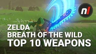 Top Ten Weapons in The Legend of Zelda: Breath of the Wild with Arekkz Gaming