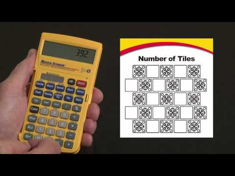 Material Estimator Tile Calculations How To