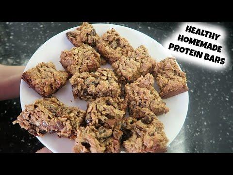 Healthy Homemade Protein Bars | FULL RECIPE