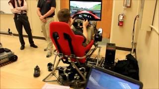 3 Screens Racing Car Simulator 6 DOF With 128 Games Like