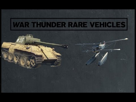 My Rare Vehicle Collection (War Thunder)