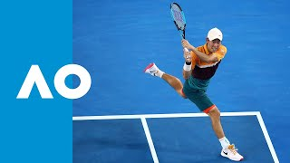 Kei Nishikori vs Pablo Carreno Busta - Full Fifth Set Tiebreak | Australian Open 2019 4R