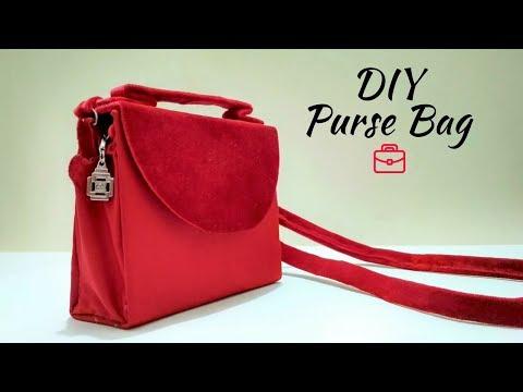DIY PURSE BAG CLUTCH NO SEW | DIY cardboard clutch | Best out of waste clutch