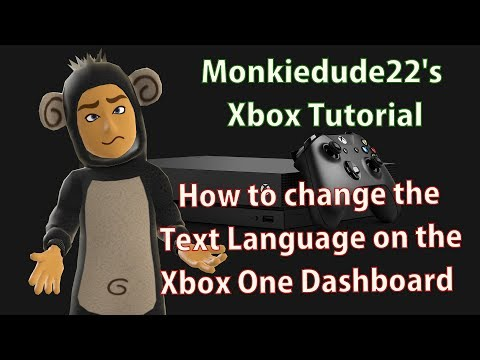 How to change the Language and Location settings on Xbox One