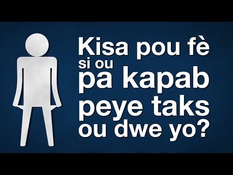Kisa pou fè si ou pa kapab peye taks ou dwe yo?