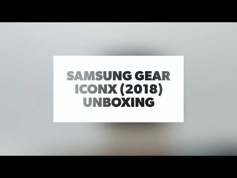 Samsung Gear IconX (2018) Unboxing