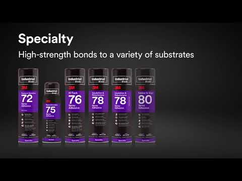 3M™ Industrial Grade Spray Adhesives for Any Application