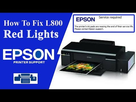 Epson L800 Resetter || Ink Flushing || Head Cleaning || Nozzle Check
