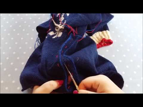 Sweater Surgery Part 2 - Sew & Cut
