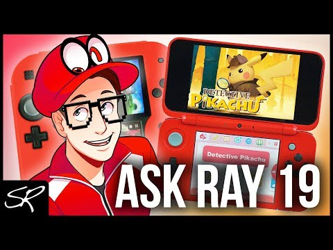 What's on my Nintendo 2DS & New 2DS XL April 2018 | Ask Ray Anything #19