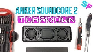 Download Anker SoundCore 2 Teardown & Disassembly - Look what's inside Video