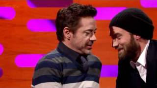 The Graham Norton Show S10e08 Jude Law Robert Downey Jr Alesha Dixon Rebecca Ferguson