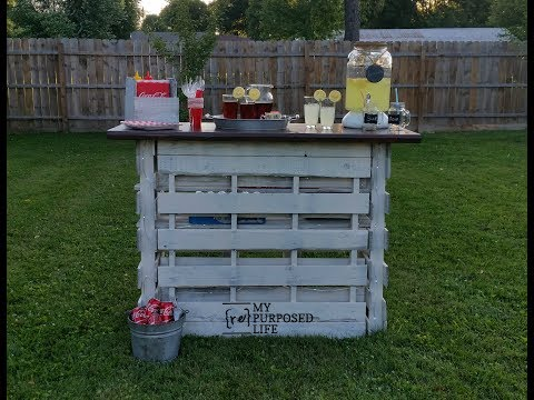 Easy Folding Portable Pallet Bar