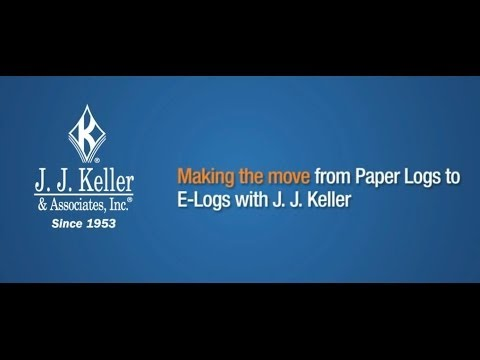 Make the Move from Paper Logs to E-Logs with J. J.  Keller