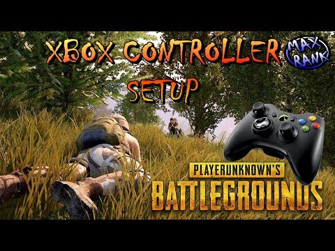 Xbox Controller Setup for Player Unknowns battlegrounds