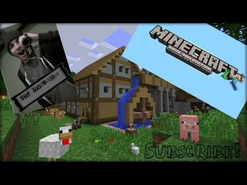 Minecraft Xbox 360 Edition - Roof Building - Part 4