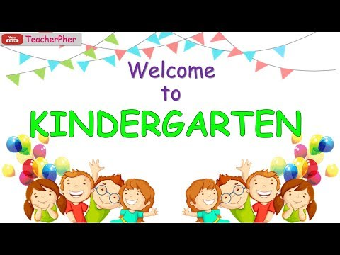 WELCOME TO KINDERGARTEN - Week 1 Day 1 Tagalog lesson