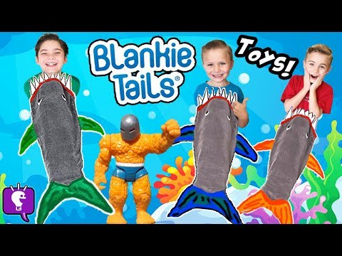 Whats in the Sharks BLANKIE Tails Tummy?