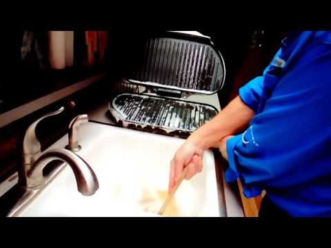 How To Clean A George Forman Grill (with Papa Al)