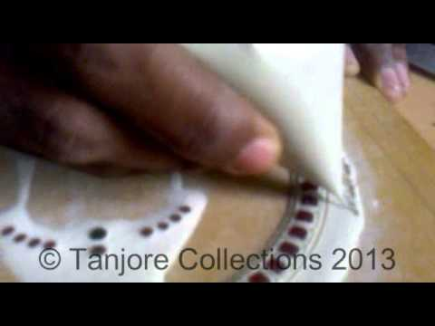 Tanjore painting | Tutorial | DIY | Learn how to make tanjore painting muck board