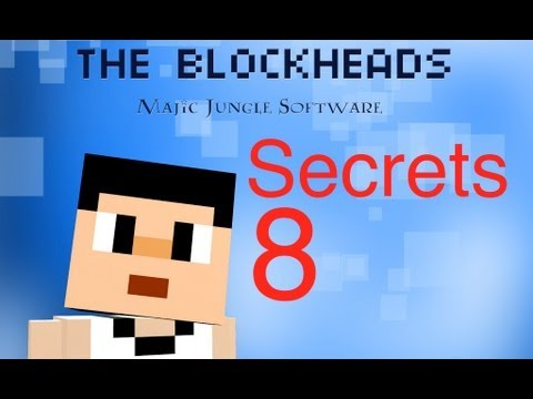 The Blockheads - Secrets 8 (Unlimited GOLD, levitating blocks, and free clothes)