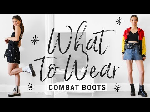 How to Style Dr. Martens Combat Boots + GIVEAWAY!!!