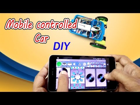 Smartphone controlled RC car or robot | How to make