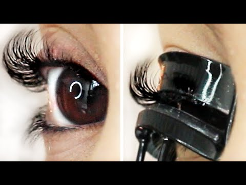 How to Curl Straight Lashes to Stay All Day! ♡