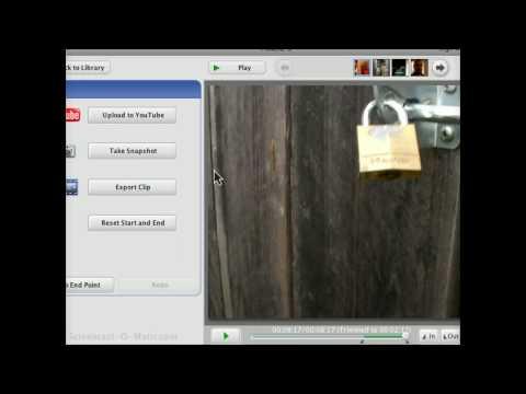 Picasa 3 Supports video clip export