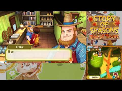 Let's Play Story of Seasons: Trio of Towns 134: The End