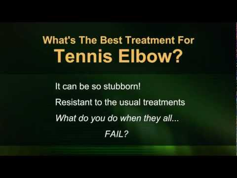 Tennis Elbow Treatment What's the Best Treatment, Remedy or Cure for Tennis Elbow Relief? [Video]