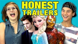 Teens React to Honest Trailers
