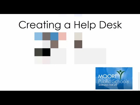 Moore Public Schools HelpDesk How-To