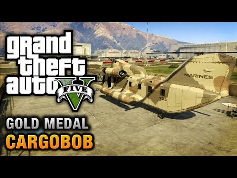 GTA 5 - Mission #31 - Cargobob [100% Gold Medal Walkthrough]
