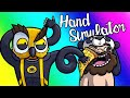Hand Simulator Funny Moments - Noisy Eating Like Never Before