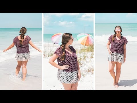 Crochet a Beach Coverup - Weekender Tunic