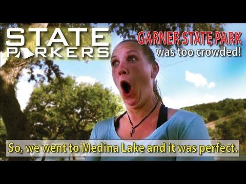 STATE PARKERS - We met a subscriber at Garner State Park - Tim V (The Texan Camper)