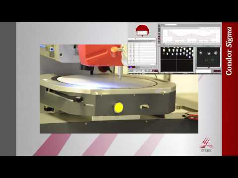 Ideal solution for 300mm (12 inch) wafer testing