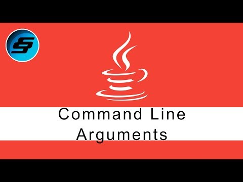 Command Line Arguments - Java Programming