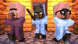 Granny vs Villager Life 7 - Granny Horror Game Minecraft Animation